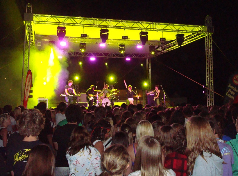 Band Stage and Lighting Perth