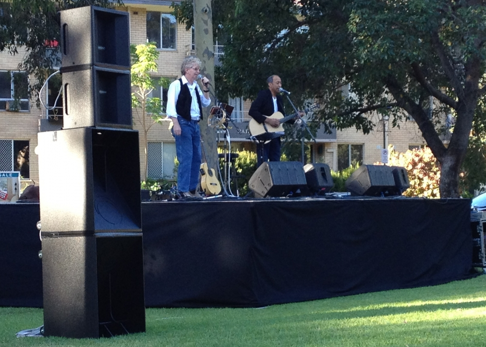 Band Sound System and Stage Perth